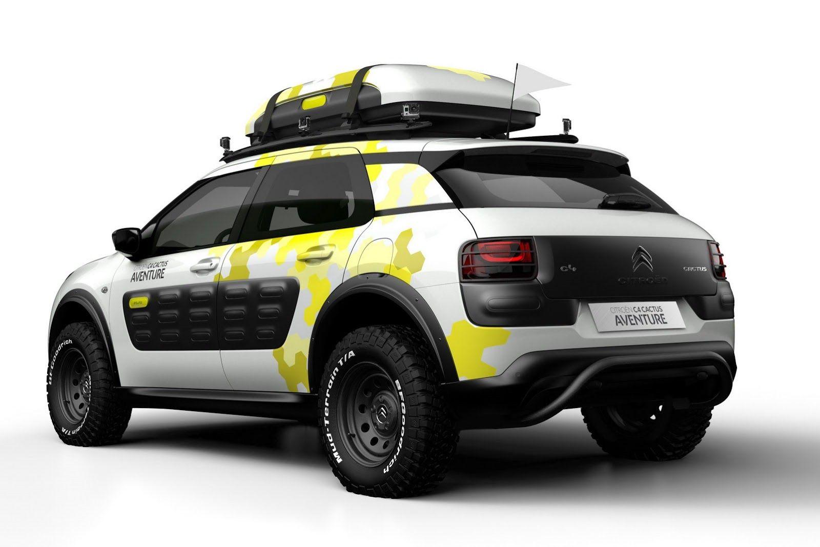 Citroen C4 Cactus Aventure Concept Carscoops Com Citroën C4 Citroen Citroen Concept