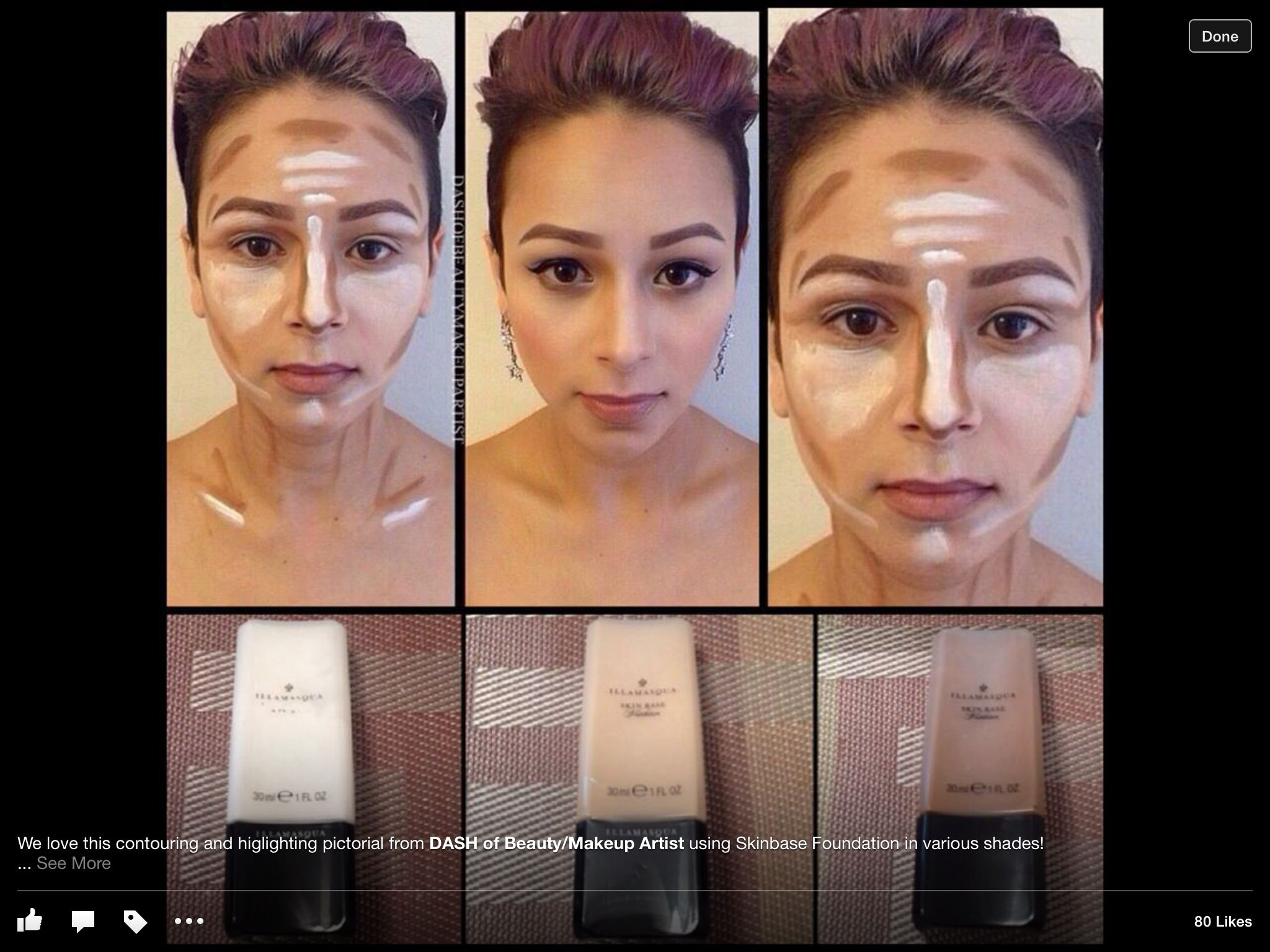 Contouring step by step | heavy contour | Pinterest | Step by step ...