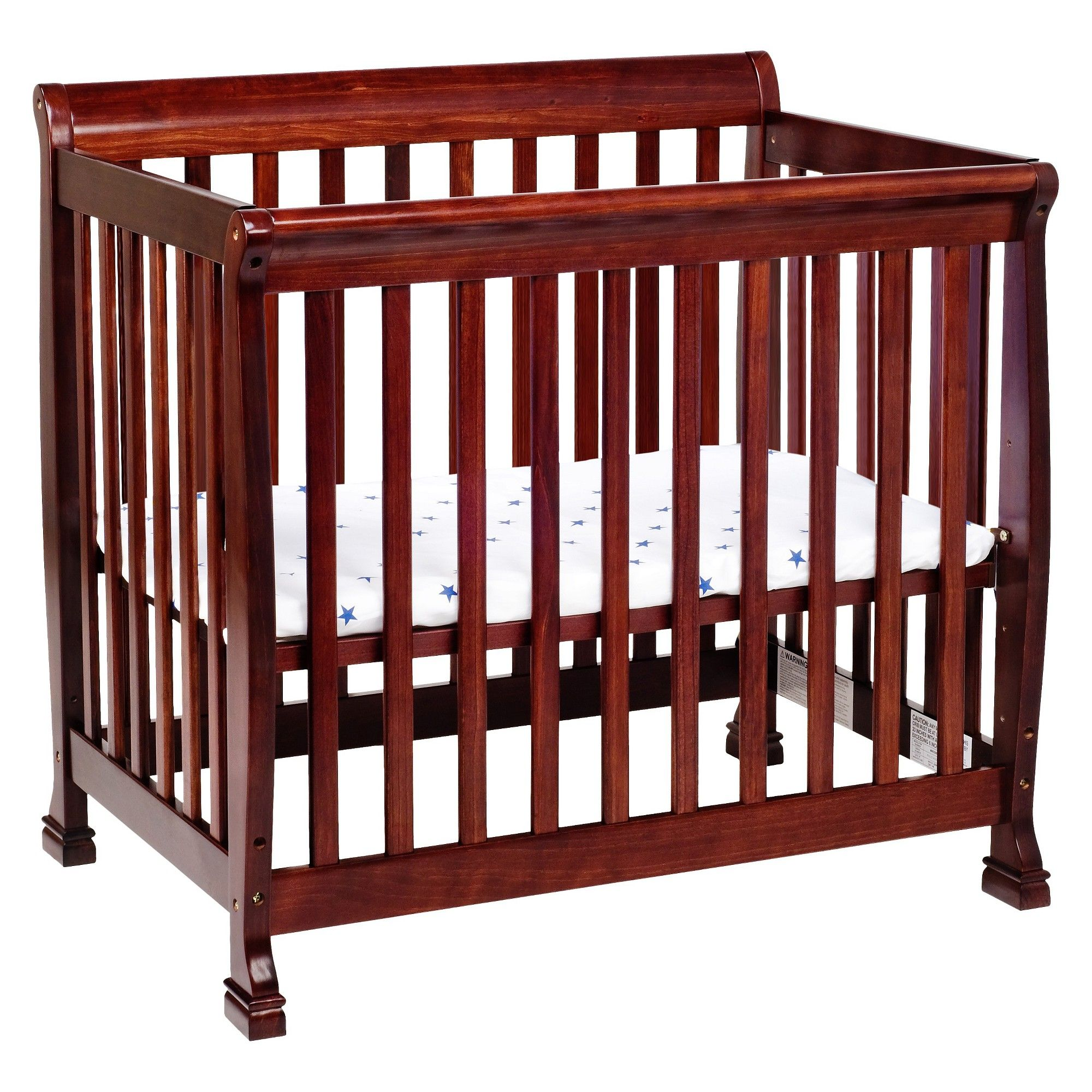 cherry crib in free home craft child coach cribs garden today shipping redmond convertible overstock product