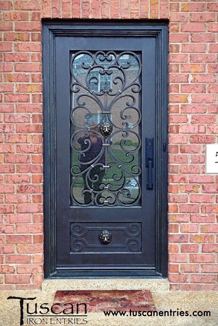 Custom Wrought Iron Doors Tuscan Iron Entries Wrought Iron Front Door Wrought Iron Doors Iron Front Door