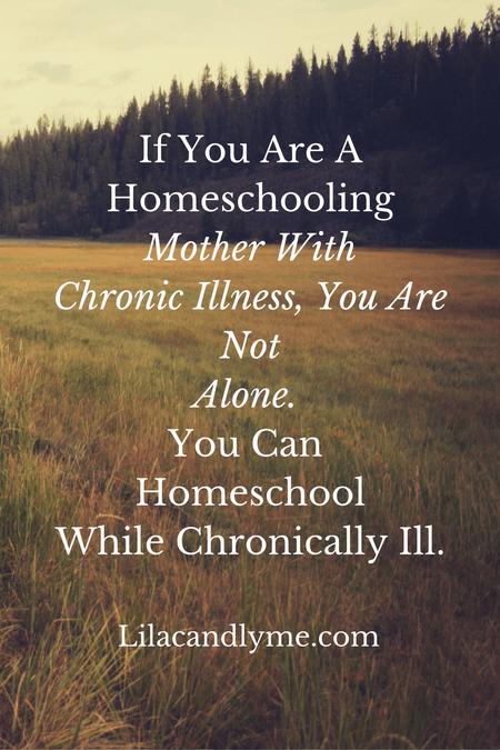 8 Tips for homeschooling with a chronic illness. Lilacandlyme.com