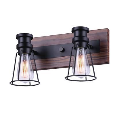 Olivar 4 Light Vanity Light Vanity Lighting Wood Vanity Black Vanity Light