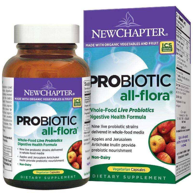 New Chapter, Probiotic All-Flora, 120 Veggie Caps ...