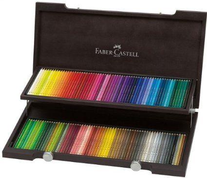 Faber Castell 110013 Crayon De Couleur Polychromos Coffret Bois De