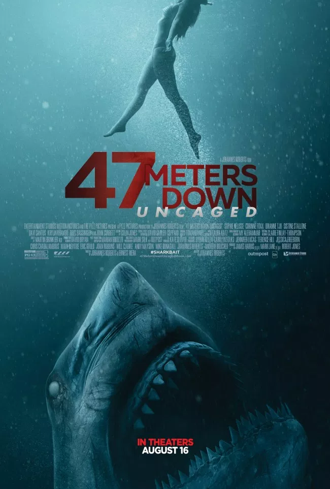 Exclusive Images From 47 Meters Down Uncaged The Film Festival Home English Movies Download Movies Free Movies Online