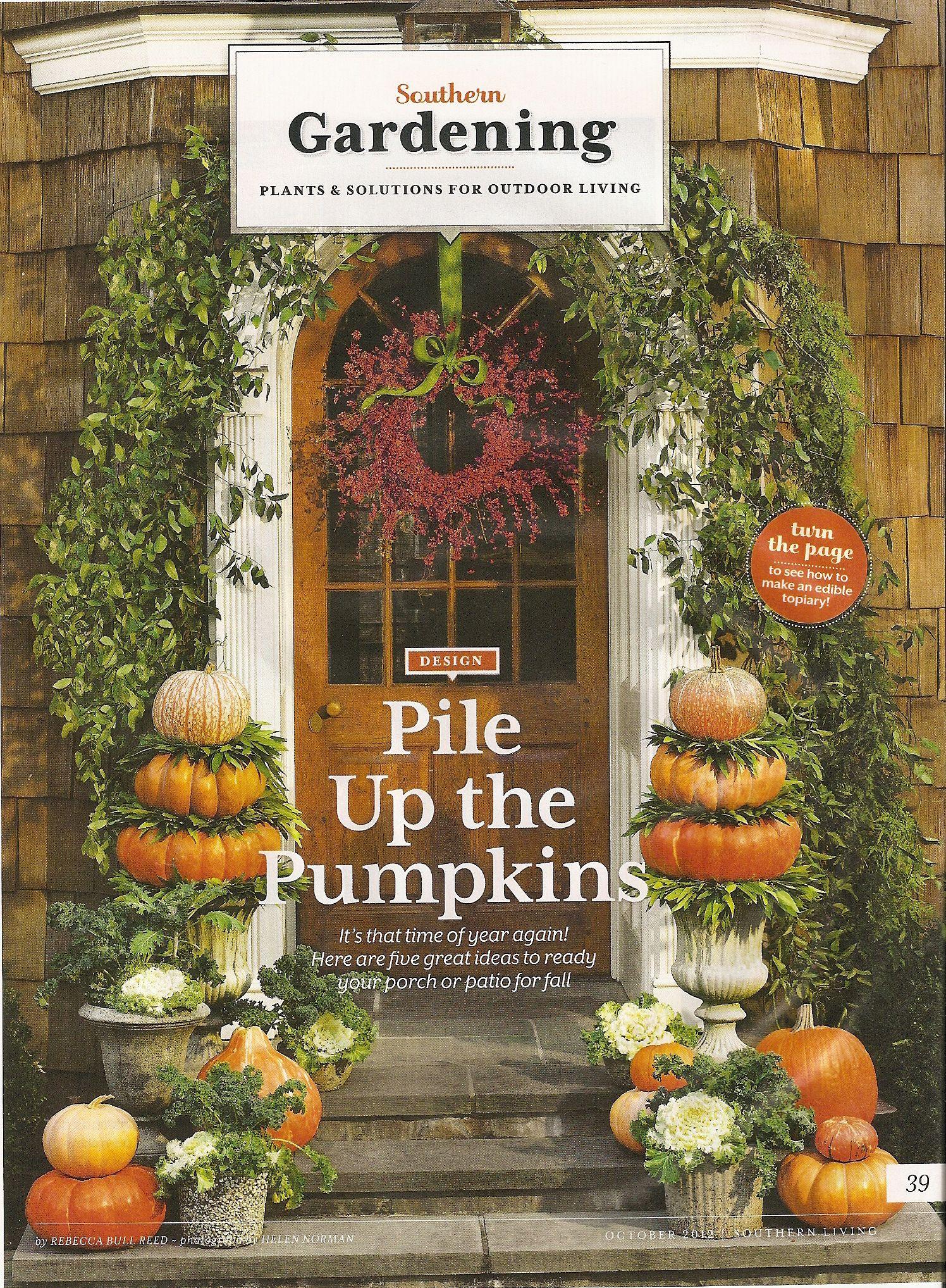 front stoop pumpkin