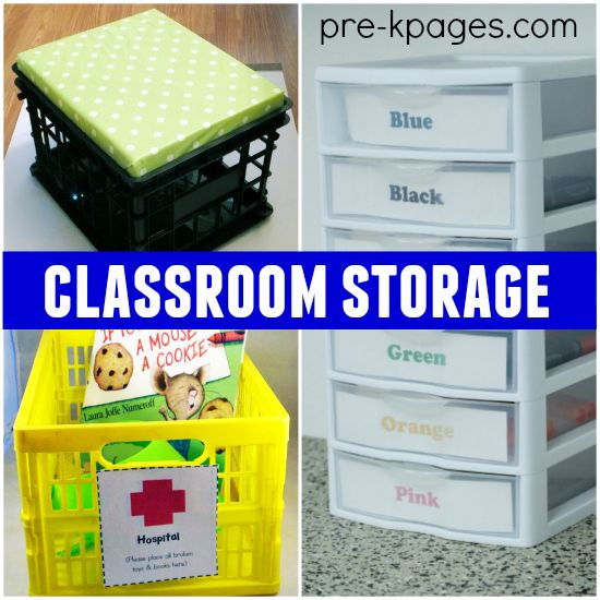 20 Classroom Storage Ideas
