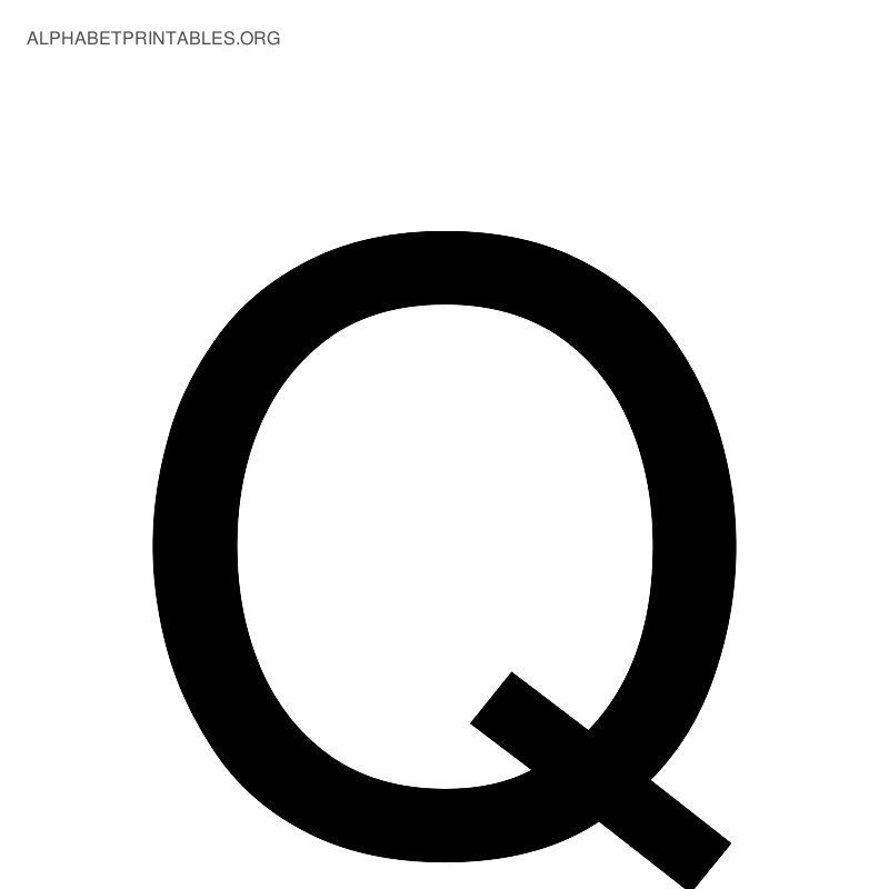 Letter Q Clipart Black And White Letters News To Gow Pinterest