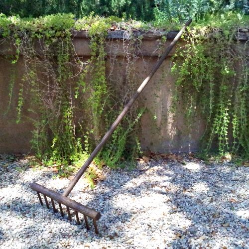 Sold Out Japanese Zen Gravel Rake Hand Crafted Oak 48 Inches