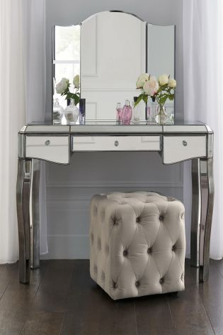 Juliette Pewter Dressing Table From The Next Uk Online