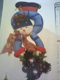 Amor-Perfeito-Amor: boneco de neve