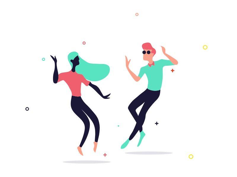 Dancing by Mustafa Kural