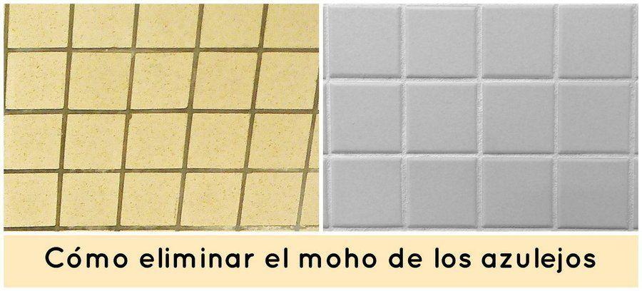C mo eliminar el moho de los azulejos del ba o blog - Como limpiar el moho del bano ...