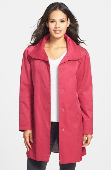 Gallery A-Line Swing Coat (Regular & Petite) available at ...