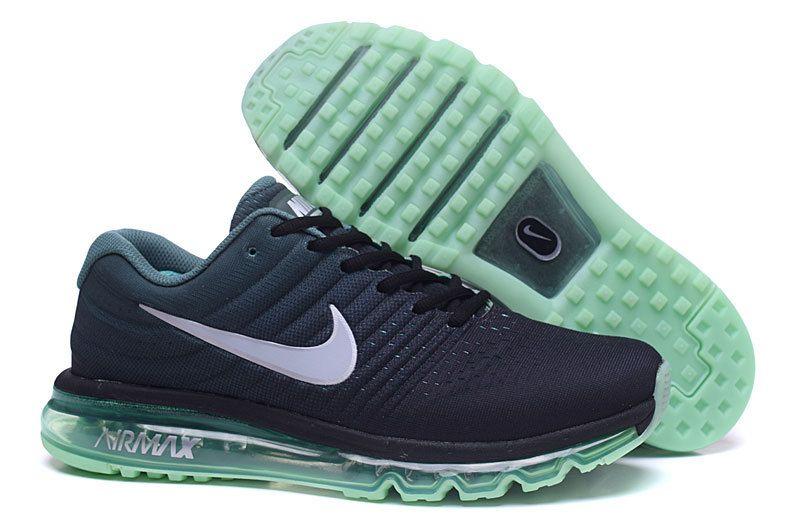 save off ee10e 2b6f6 ... canada cheap nike air max 2017 black green white shoes 3e5c4 55dca