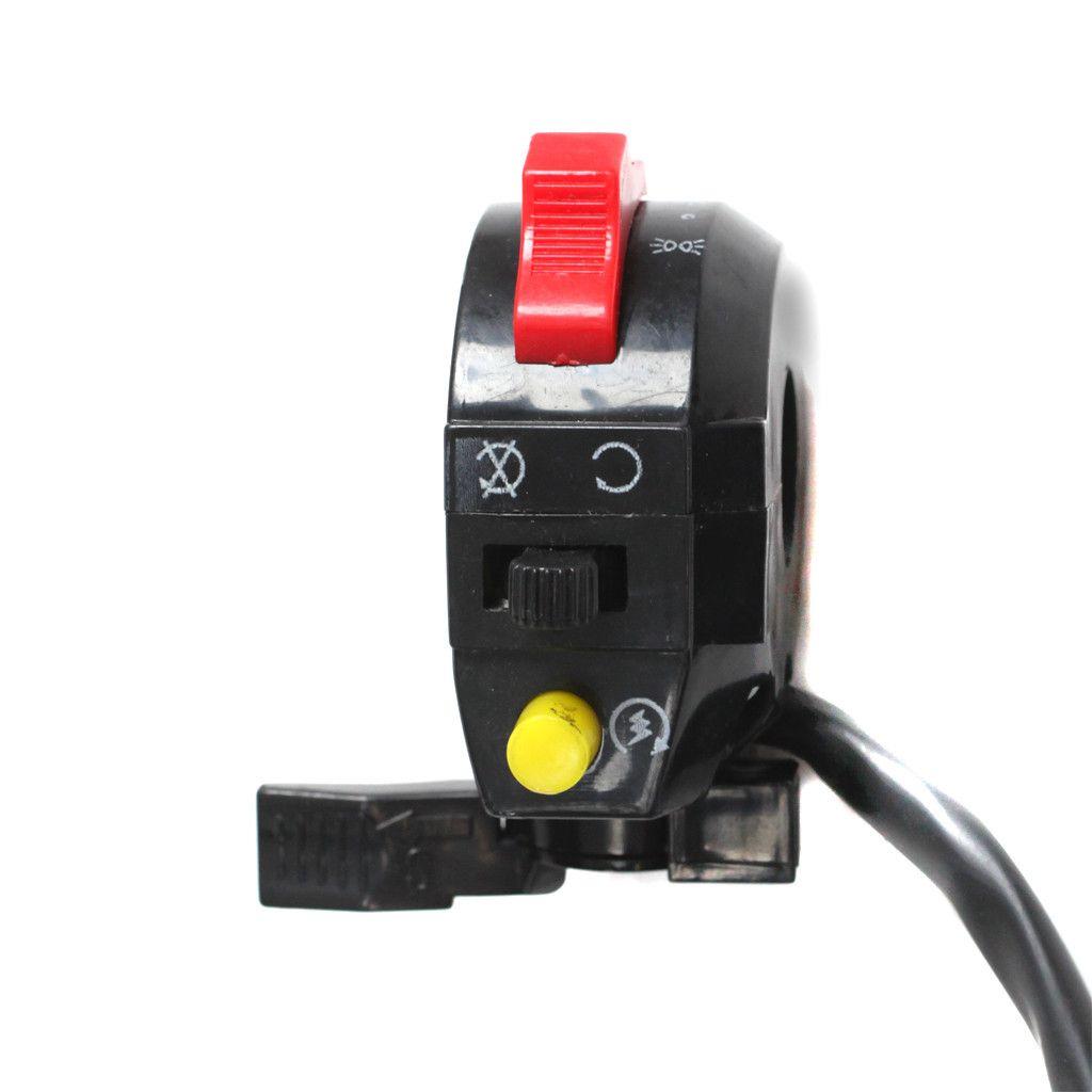 Chinese ATV Handlebar Starter Switch Version 3 6 wire