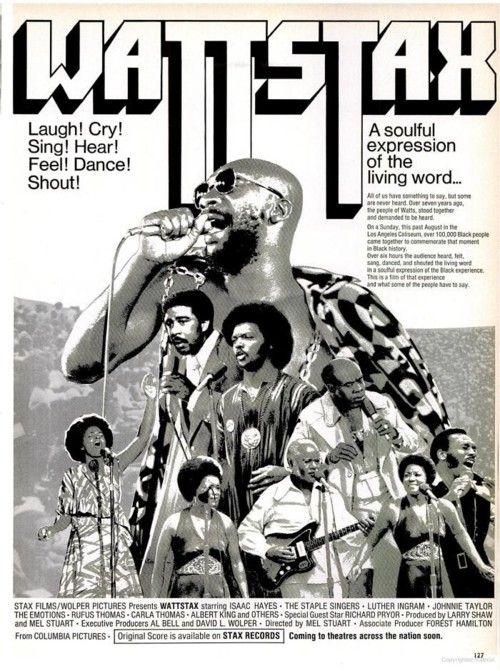 WATTSTAX on Ebony.   March, 1973.
