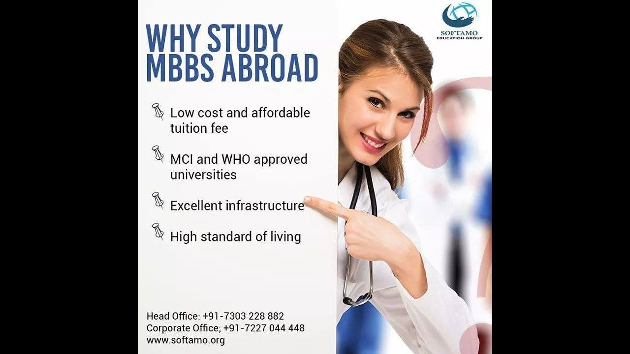 MBBS ABROAD WITHOUT NEET REALITY SOFTAMO EDUCATION GROUP