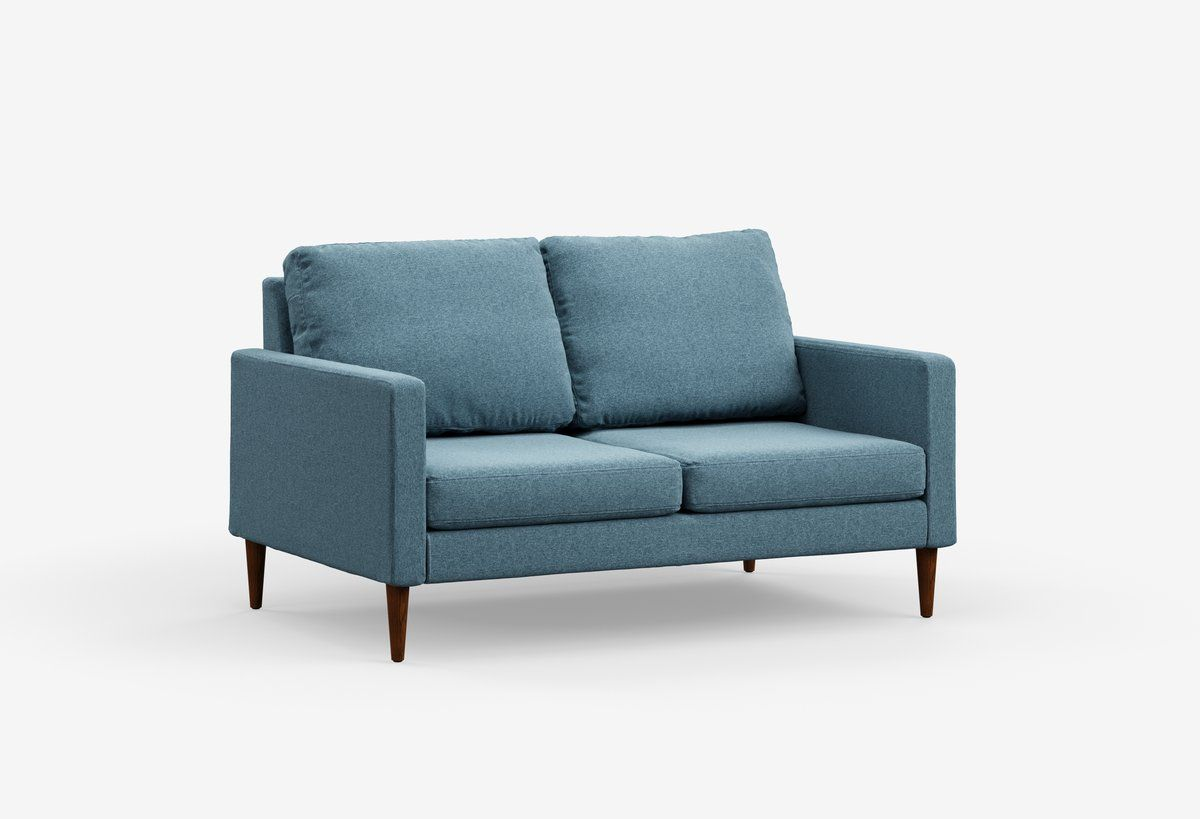 Loveseat Home Sofas For Small Spaces Living Room Update