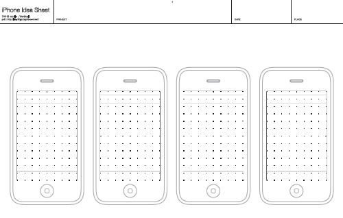 Free Printable Sketching, Wireframing and NoteTaking PDF