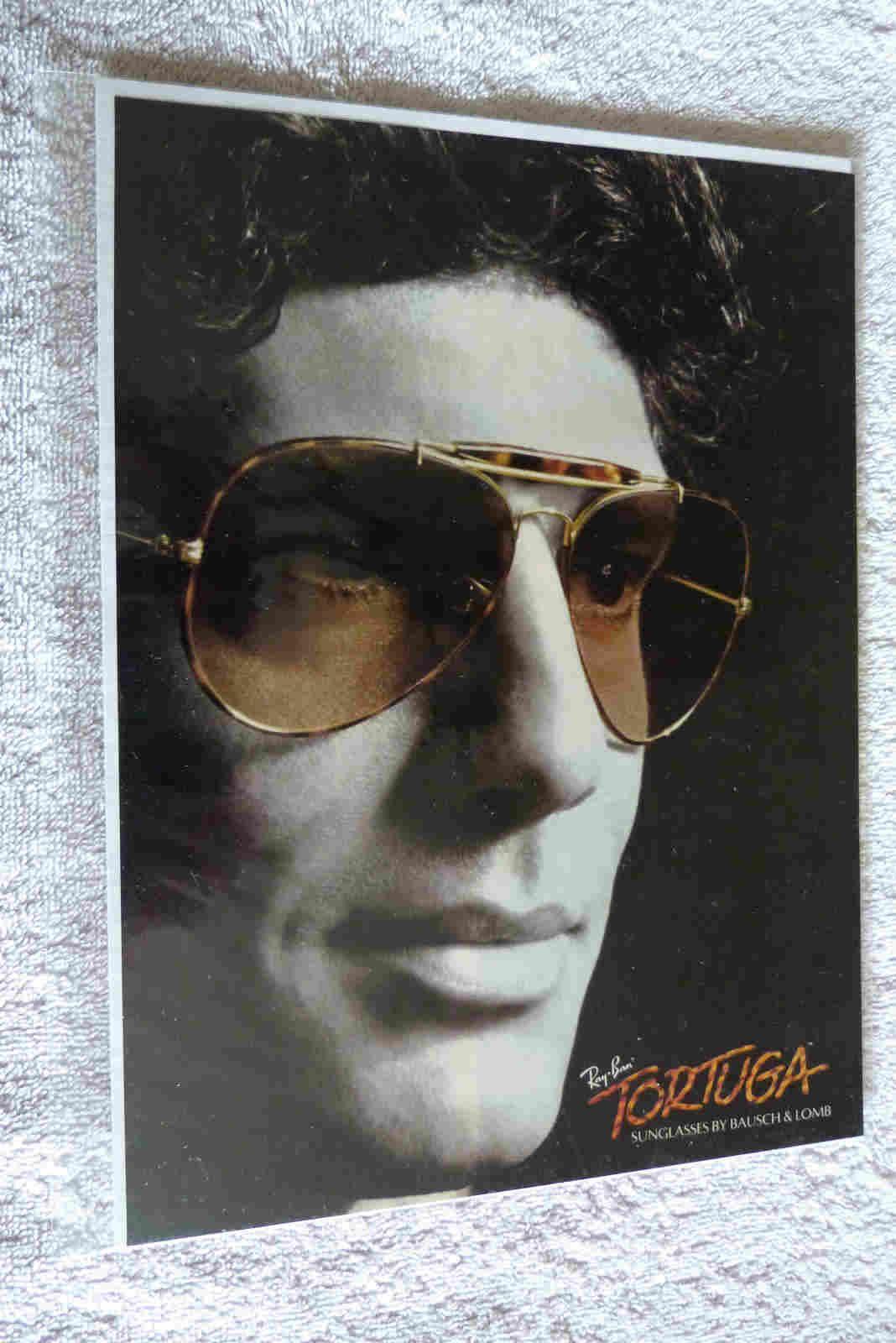 314bf0d61f4 1985 Vintage Ray Ban tortuga ad