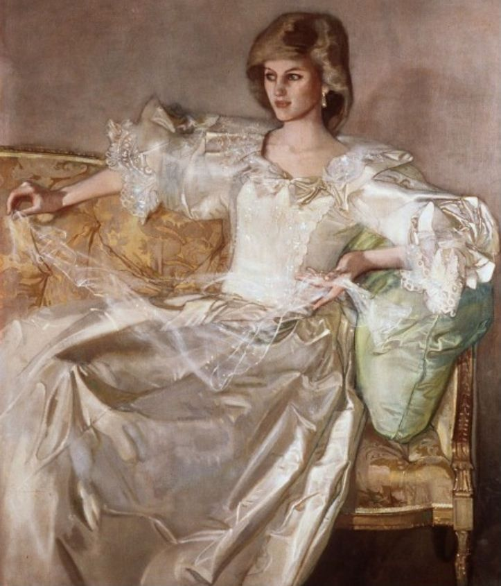 The Princess of Wales by John Ward. Rather more flattering to the ...