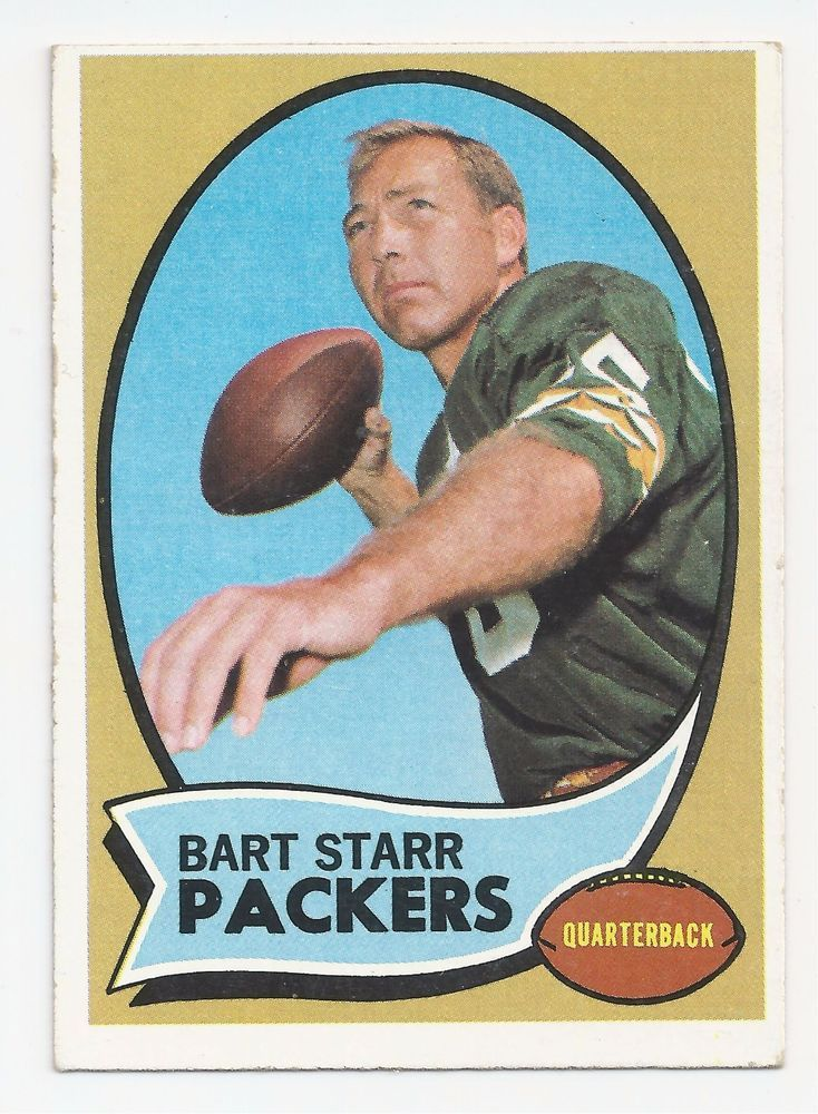 Details About Bart Starr Green Bay Packers Hall Of Famer