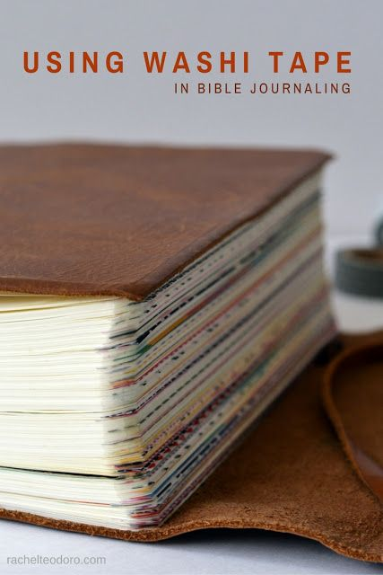 Using Washi Tape in Your Bible Journal #bible