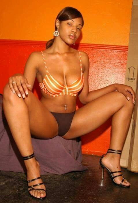 Ebony candy stripers nude #11