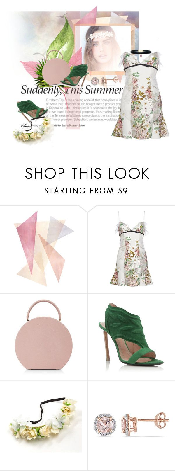 """Set for today!"" by wodecai ❤ liked on Polyvore featuring Giambattista Valli, BUwood, Roland Mouret and Allurez"