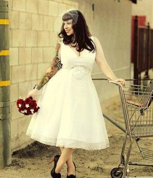 {B-Day Week Celebration} Plus Size Vintage Wedding Gowns