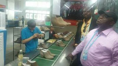 China To Establish $1.5bn Shoe Factory in Abia