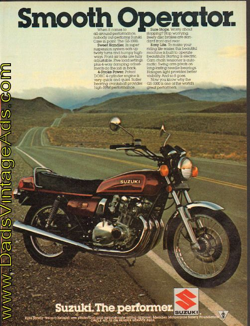 1979 suzuki gs1000  u2013 this is my 4th motorcycle at age 22