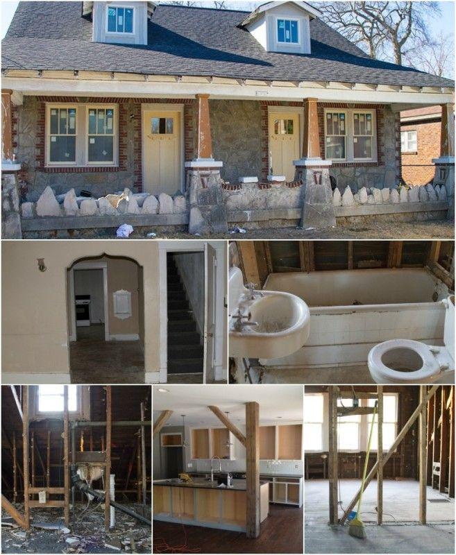 Atlanta Bungalow Renovation: Flipping Houses In Nashville Tn