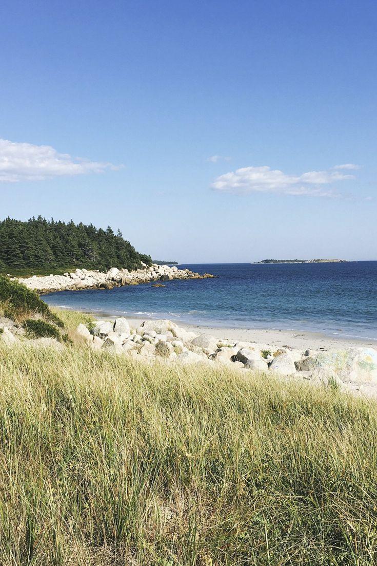 Crystal Crescent Beach Provincial Park Trail - Nova Scotia