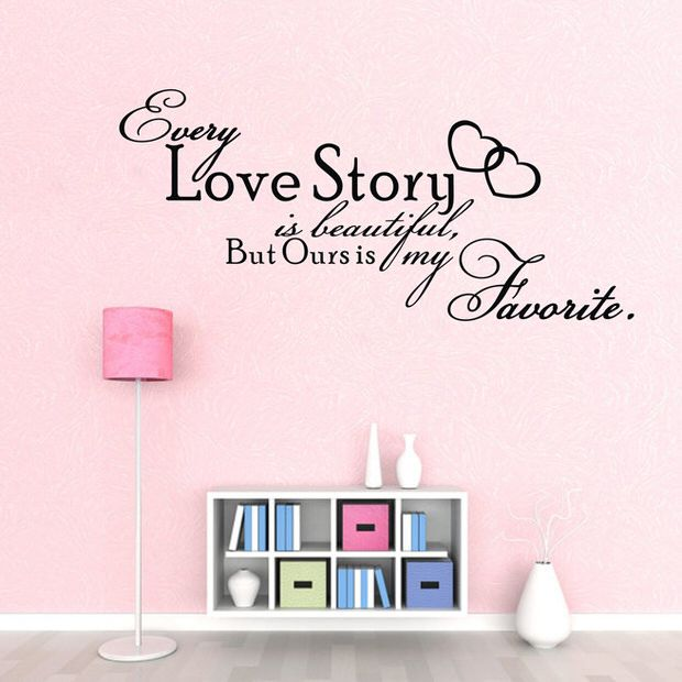 Diy Wall Words The Budget Decorator Diy Wall Art Quotes Wall Stickers Bedroom Diy Wall Art