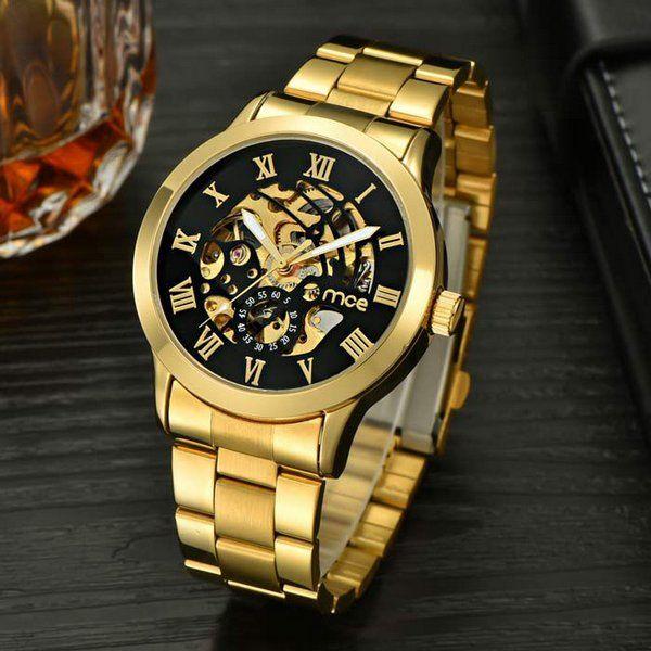cd0773b0820 Relógio MCE Gold Luxo - Dali Relógios