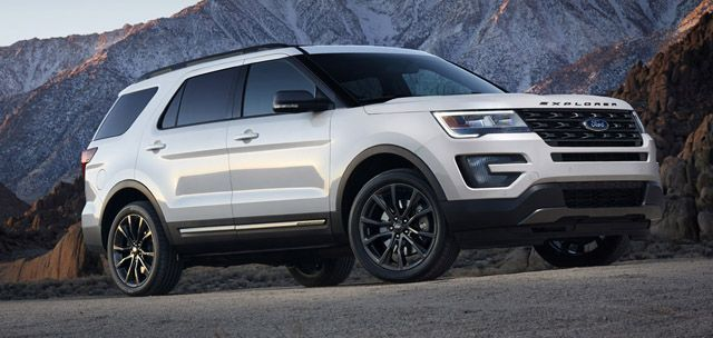 2017 Ford Explorer And Escape Star At Chicago Auto Show