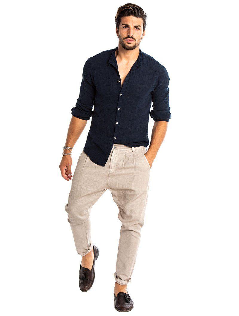 503d24032 SABURO KOREAN SHIRT IN BLUE NAVY – Nohow Style Korean Shirts, Mdv Style,  Mariano