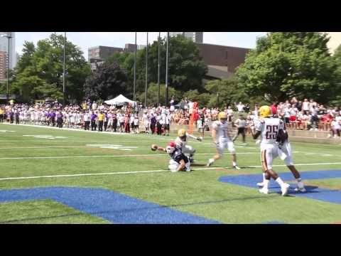 Sean Brady One Handed Td Espn 3 College Football Play Of The Week 8 31 13 Soccer Field Football