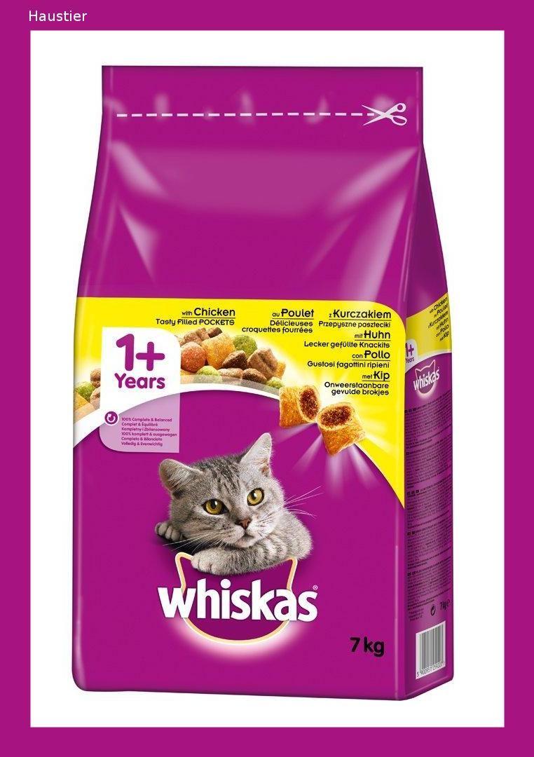 Whiskas Katzen Trockenfutter 1 Fur Katzen Mit Huhn Archeologie