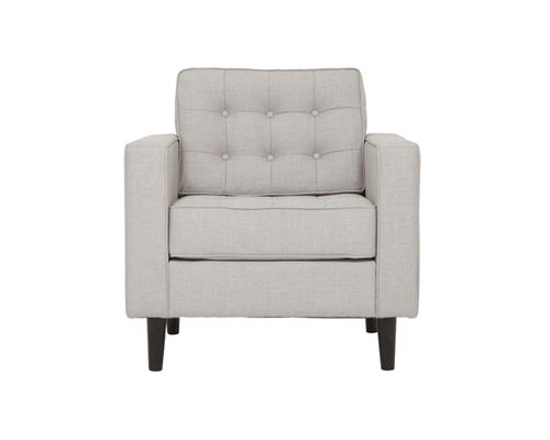 "Reverie Chair - This fabric would be nice.  Good complement to the couches.  31.5""w x 34""d x 32""h $999"