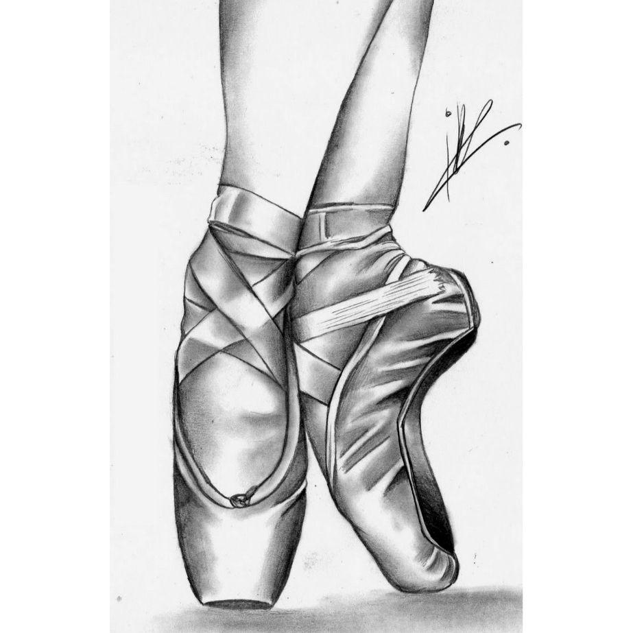 переехала рисунок балетки балерины слайд-шоу название