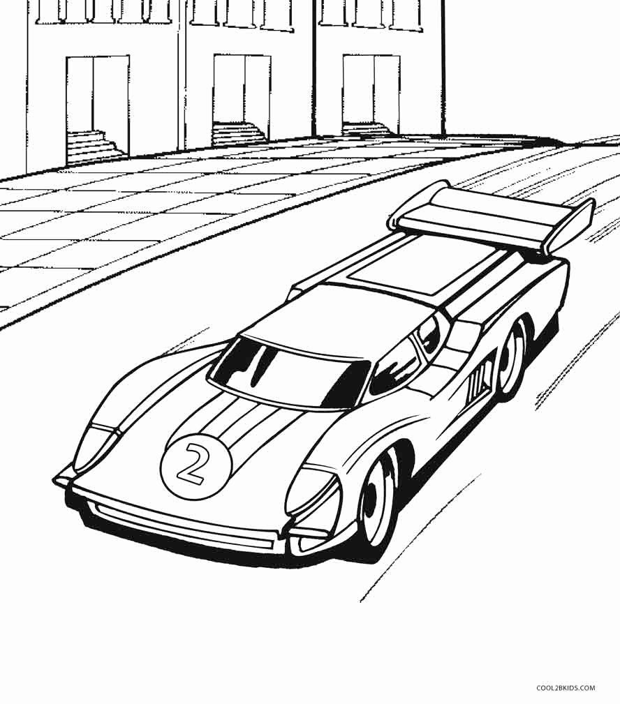 28 Hot Wheel Coloring Page in 2020 | Cars coloring pages ...