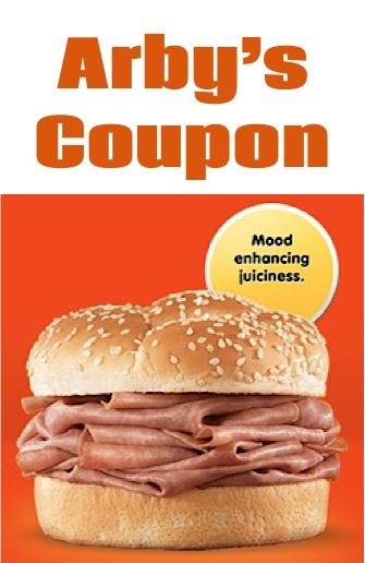 arbys coupon 64c roast beef sandwich 723 only