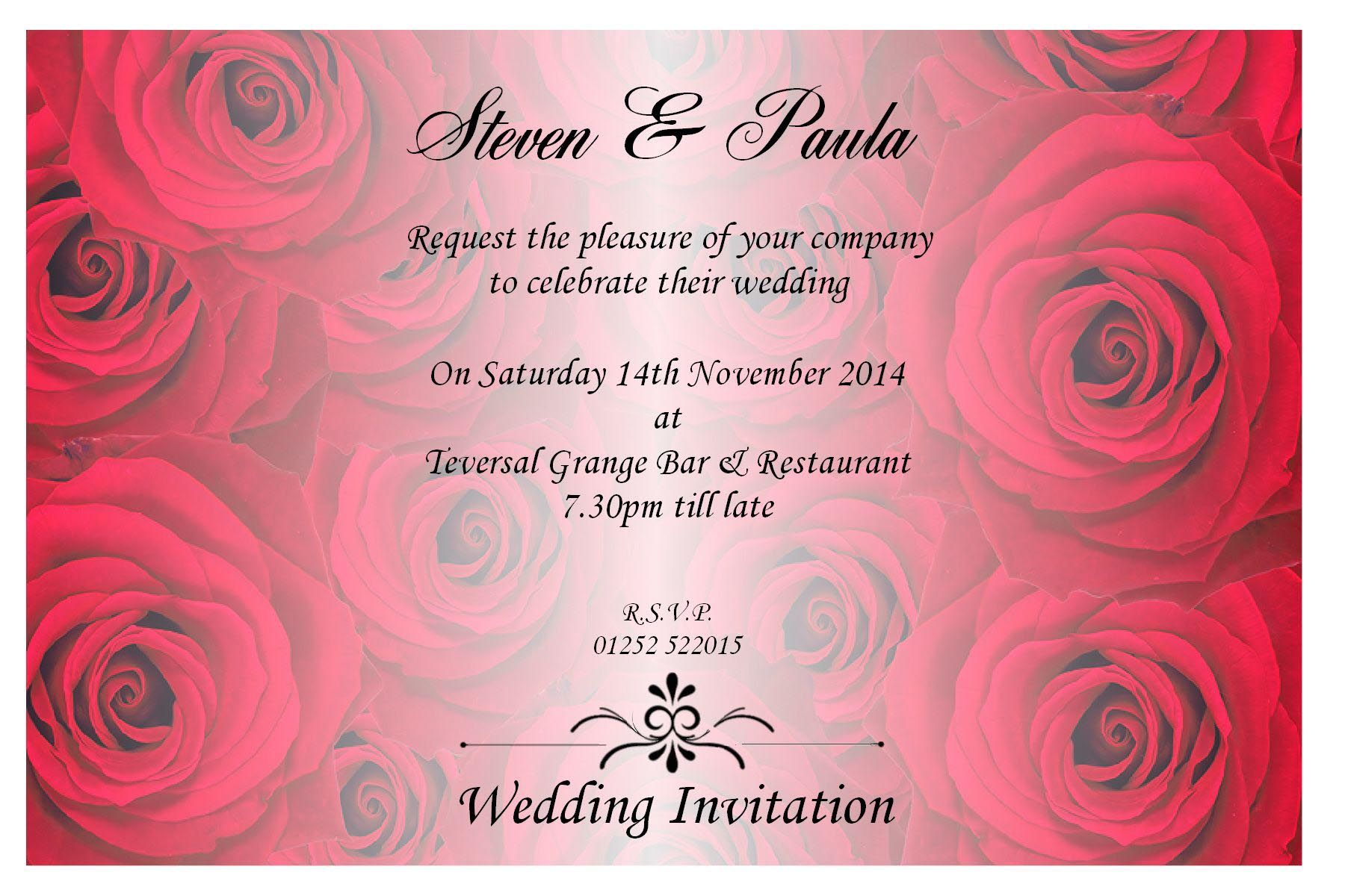 Wedding Invitation Templates | Wedding Invitation Design Quotes ...