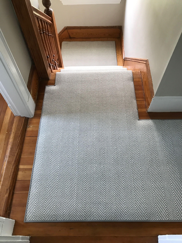 Best Kaleen Peter Island Grey Stair Runner Carpet House 400 x 300