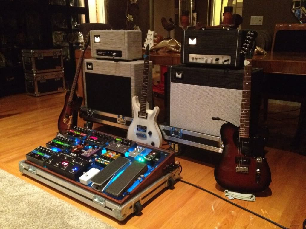 the gear page view single post need pictures of huge pedalboards home recording studios. Black Bedroom Furniture Sets. Home Design Ideas