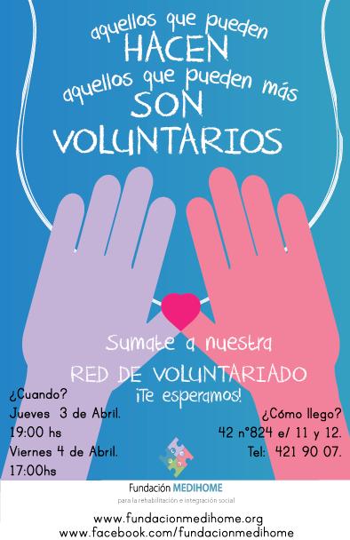 Flyer Voluntariado Portatrabajos Pinterest