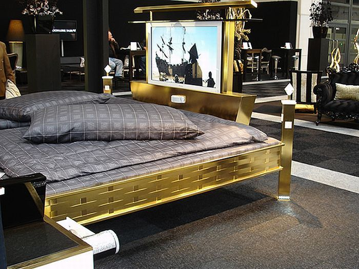 World S Most Expensive Beds Bed Bed Furniture Gold Bed